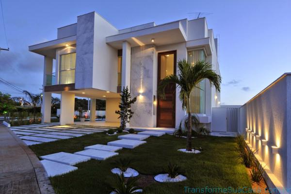 Fachadas modernas – Como decorar 5 dicas de decoração como decorar como organizar