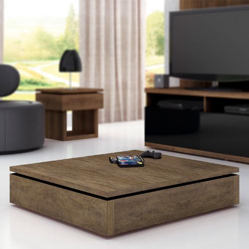 Mesa de centro de madeira de demolição – Como escolher (4) dicas de decoração fotos