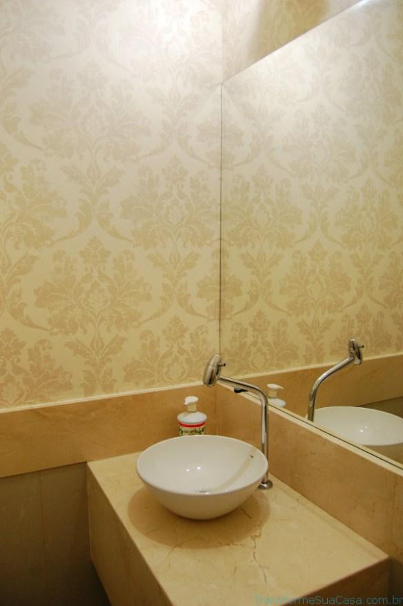 Papel de parede para lavabo – Como usar 7 dicas de decoração como decorar como organizar