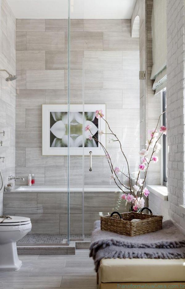 Revestimento para banheiro – Como escolher 7 dicas de decoração como decorar como organizar