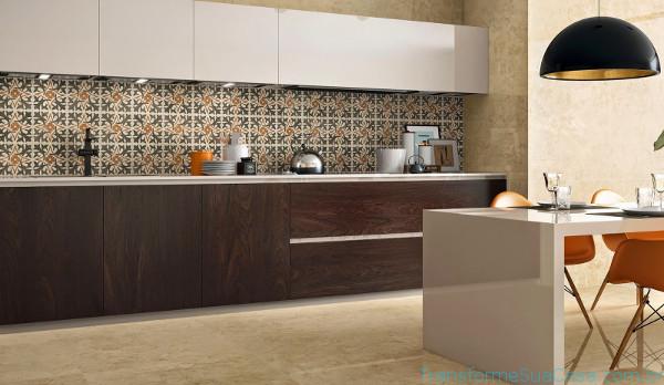 Revestimento para cozinha – Como escolher (11) dicas de decoração como decorar como organizar