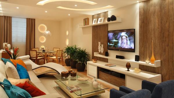 Decora o de sala simples barata fotos dicas de tv for Sala 600 melide