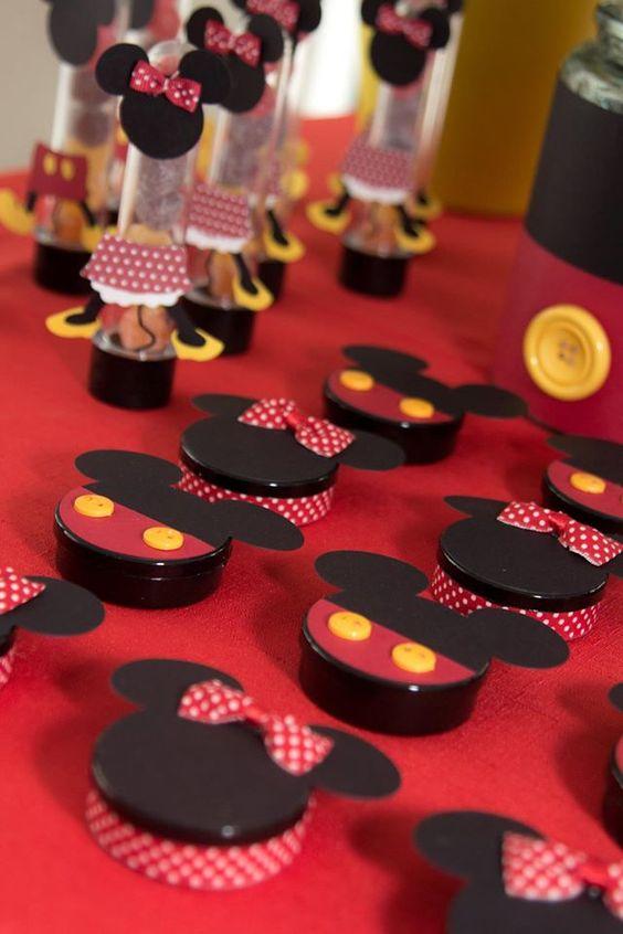 Festa Da minnie doces vermelhos