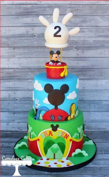 decoracao festa do Mickey