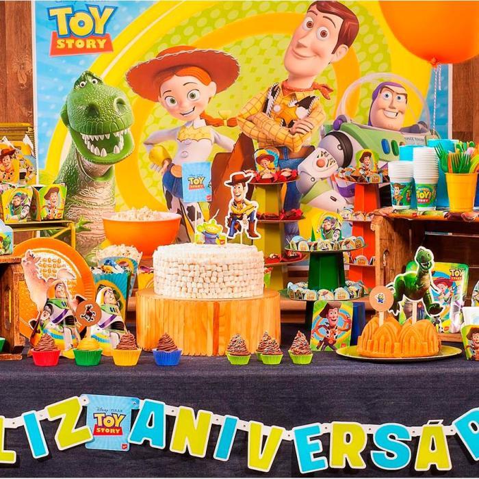 Os temas de festa infantil na MZ Decorações Toy Story