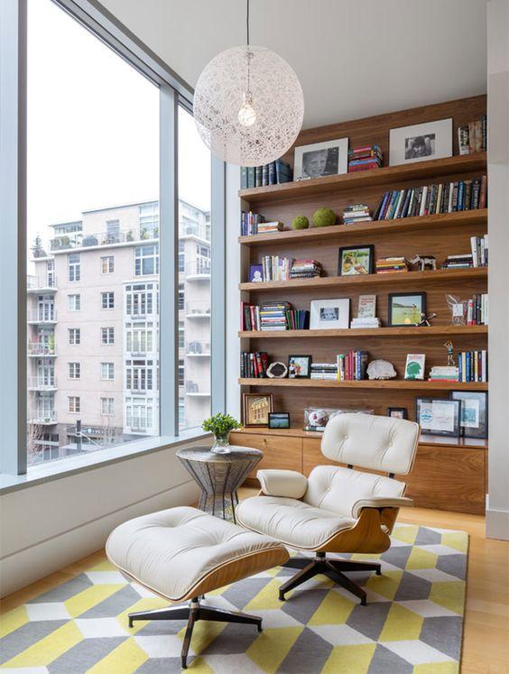 Como usar a poltrona Charles Eames na decoração da sua casa