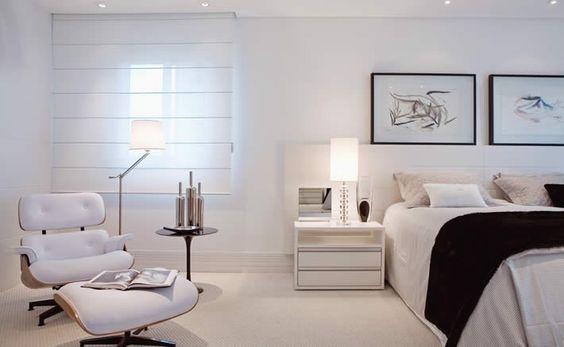 poltrona Charles Eames no quarto