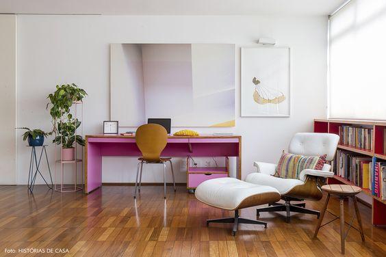 Poltrona Charles Eames na decoração