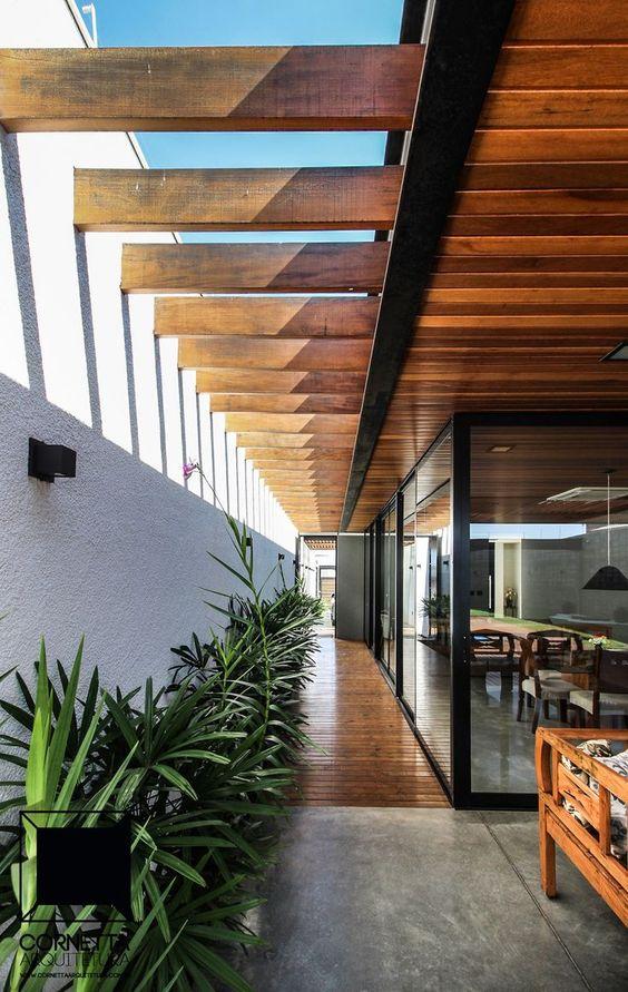 O uso da madeira na decoração