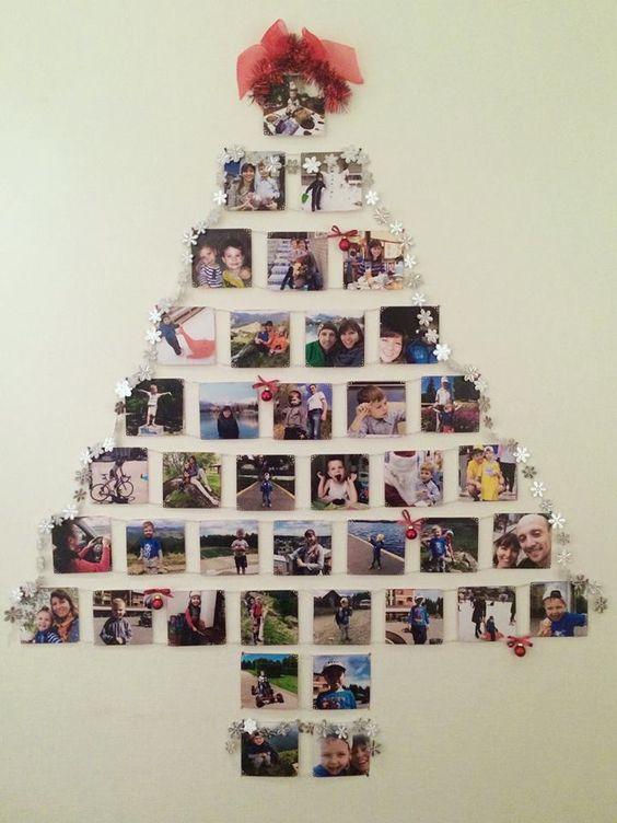 arvore de natal artesanal fotos