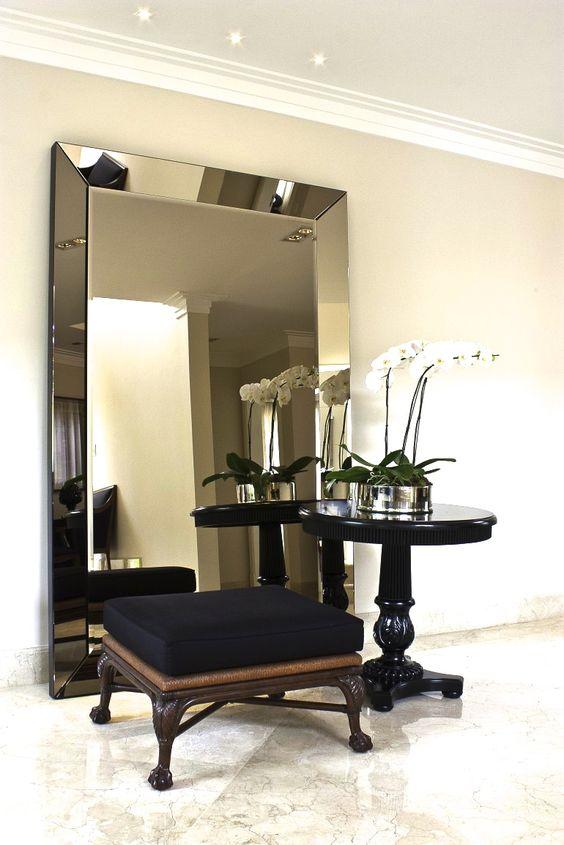 espelho bisotado corredor
