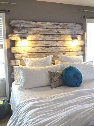 decoracao com pallets quarto