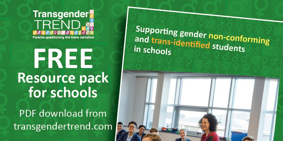 Schools Resource Pack - Transgender Trend