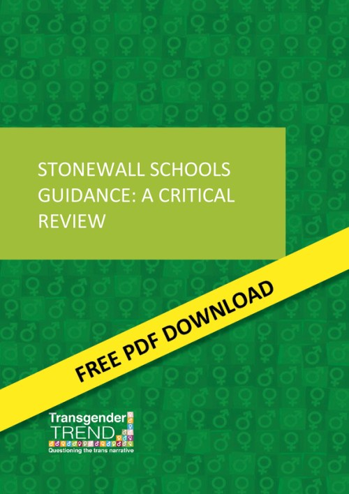 Stonewall Schools Guidance: A Critical Review