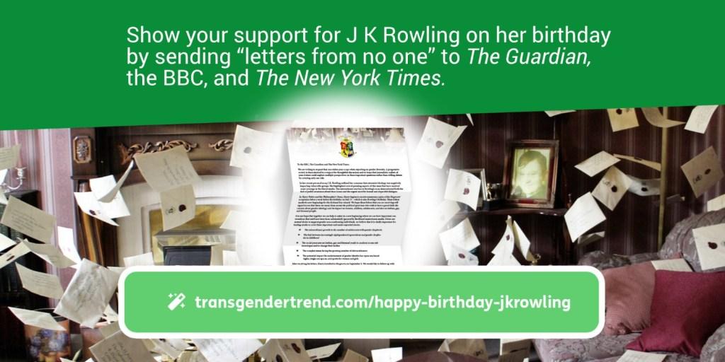 Happy Birthday J K Rowling