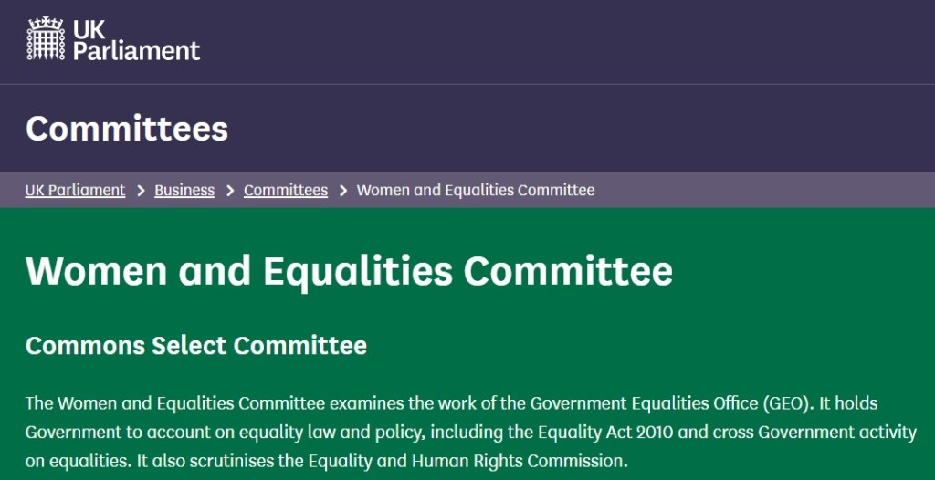 Gender Recognition Act - WESC