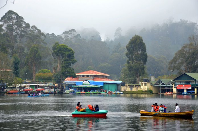Image result for kodaikanal lake