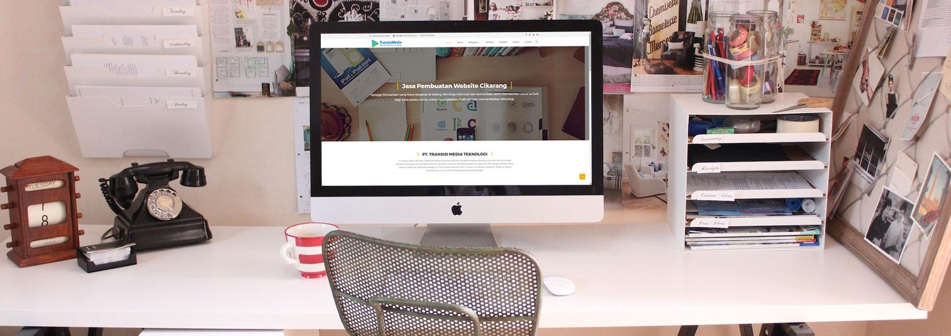 Jasa Pembuatan Website Cikarang Bekasi