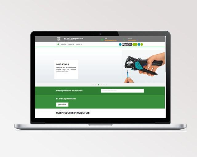 Jasa pembuatan website professional