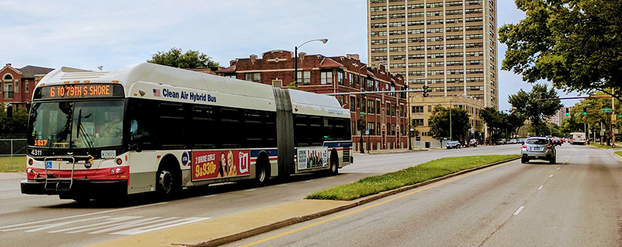 Image result for bus downtown university of chicago