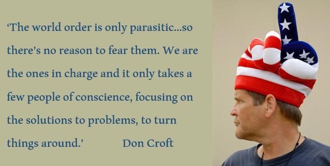 Don Croft over het effect van giften met orgonite