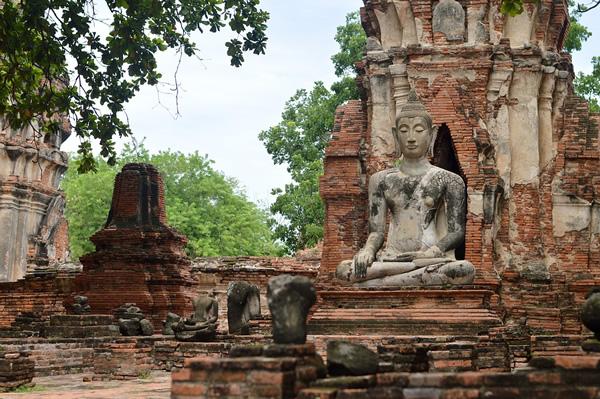 Ayutthaya is just outside Bangkok