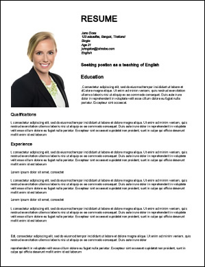 how to create web resumes to get work teaching english abroad