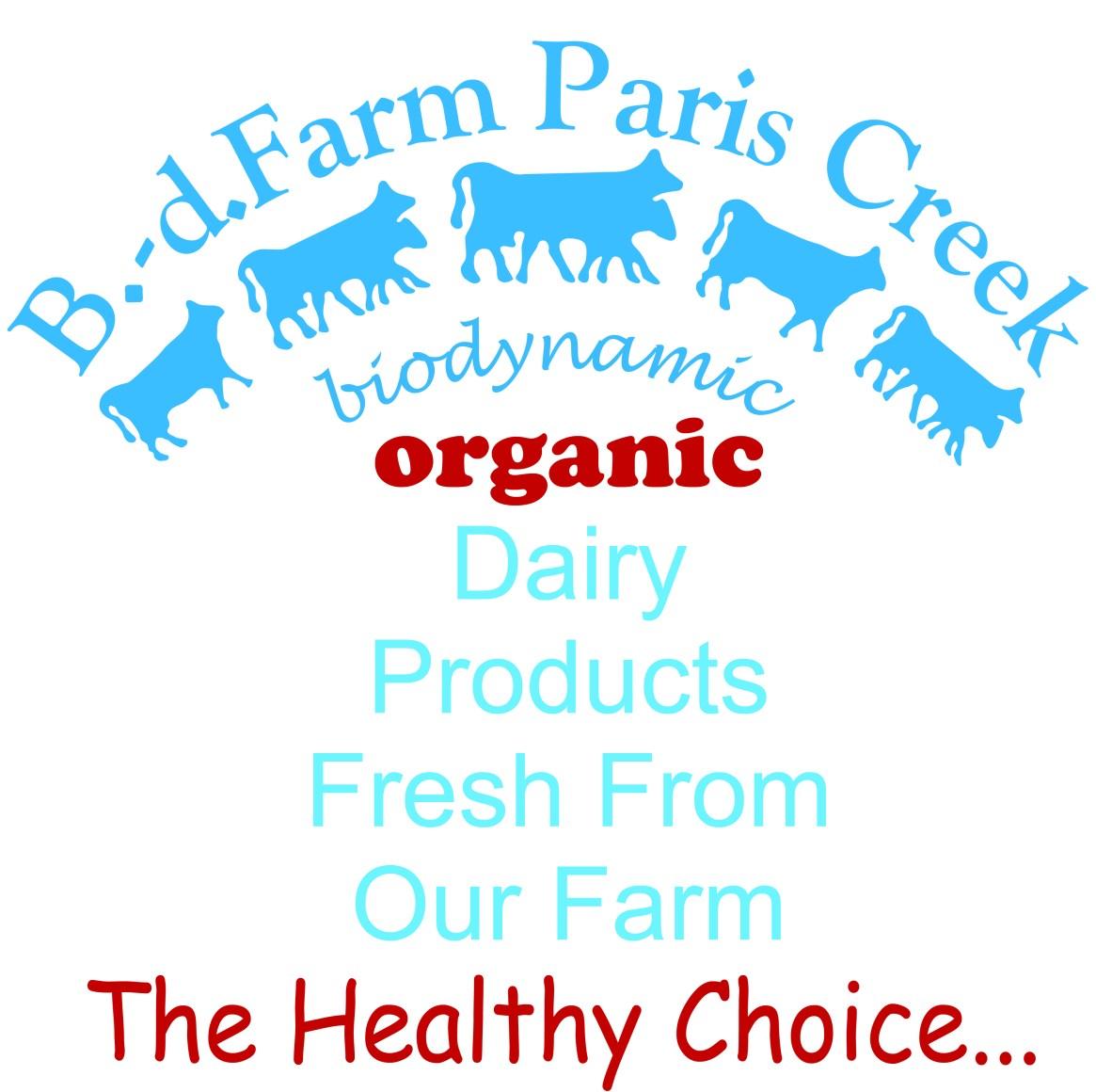 Full Logo B. d. Farm Paris Creek High Resolution 300dpi