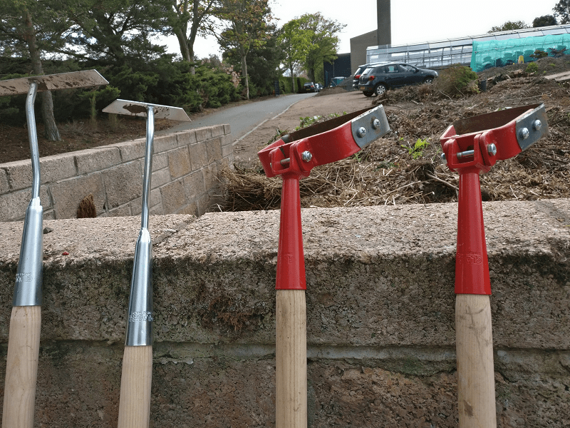 A photo of hoes