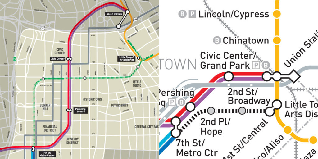 Transit Maps Official Future Map Los Angeles Metro Rail