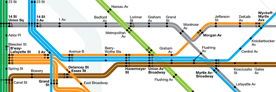 Nyc Subway Map August 2013.Transit Maps Future Map Futurenycsubway By Andrew Lynch