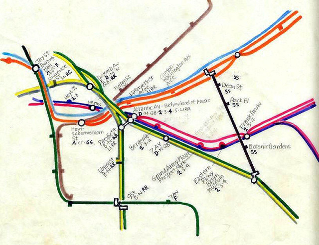 New York City Subway Map 1979.Transit Maps Historical Map Working Sketch For 1979 New York