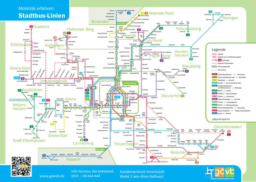 Map Of Germany Gottingen.Transit Maps Submission Official Map Bus Network Of Gottingen