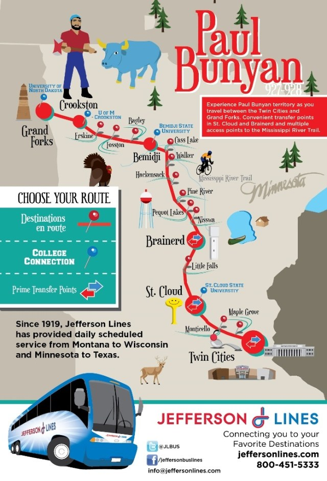 "Transit Maps: Official Maps: Jefferson Bus Lines ""Minnesota"