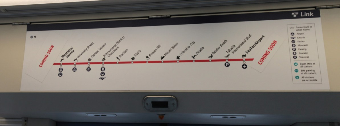 Transit Maps: Submission – Official Map: New Seattle Link