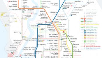 Transit Maps Official Map Milan Metro And Suburban Rail Service 2012