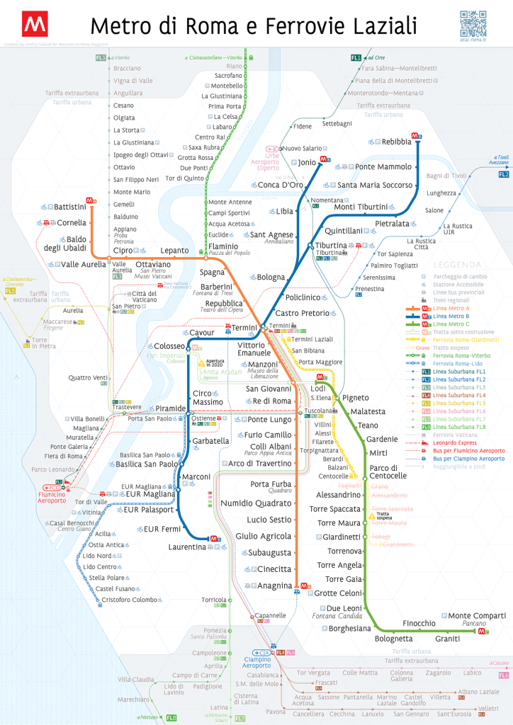 Transit Maps: Unofficial Map – Roman Metro and Suburban Rail Map by ...