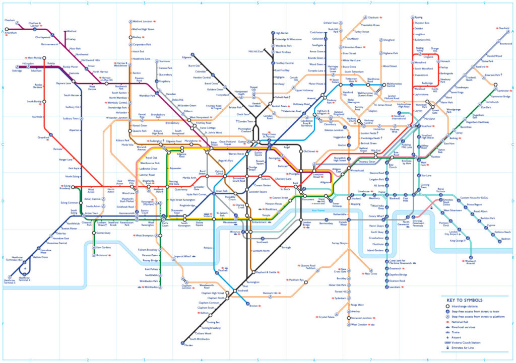 Transit Maps: Dezoning the London Tube Map?