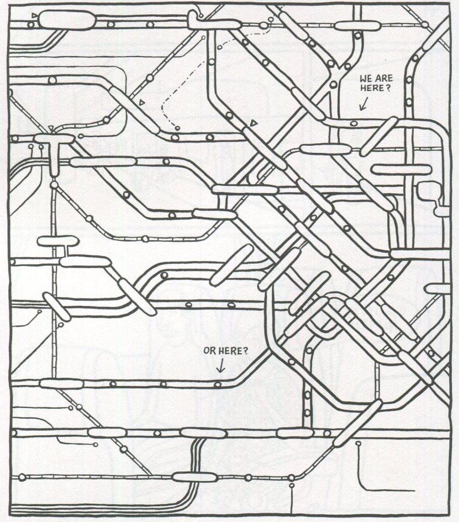 Japanese Subway Map.Transit Maps Tokyo Subway Map From Marinaomi S Turning Japanese