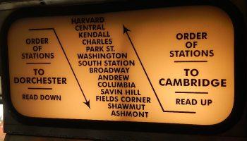 Transit Maps: Historical Map: Test MBTA Rapid Transit Map, 1991