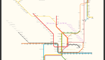 Wash Dc Metro Subway Map.Transit Maps Fantasy Map New York Subway Map In The Style Of