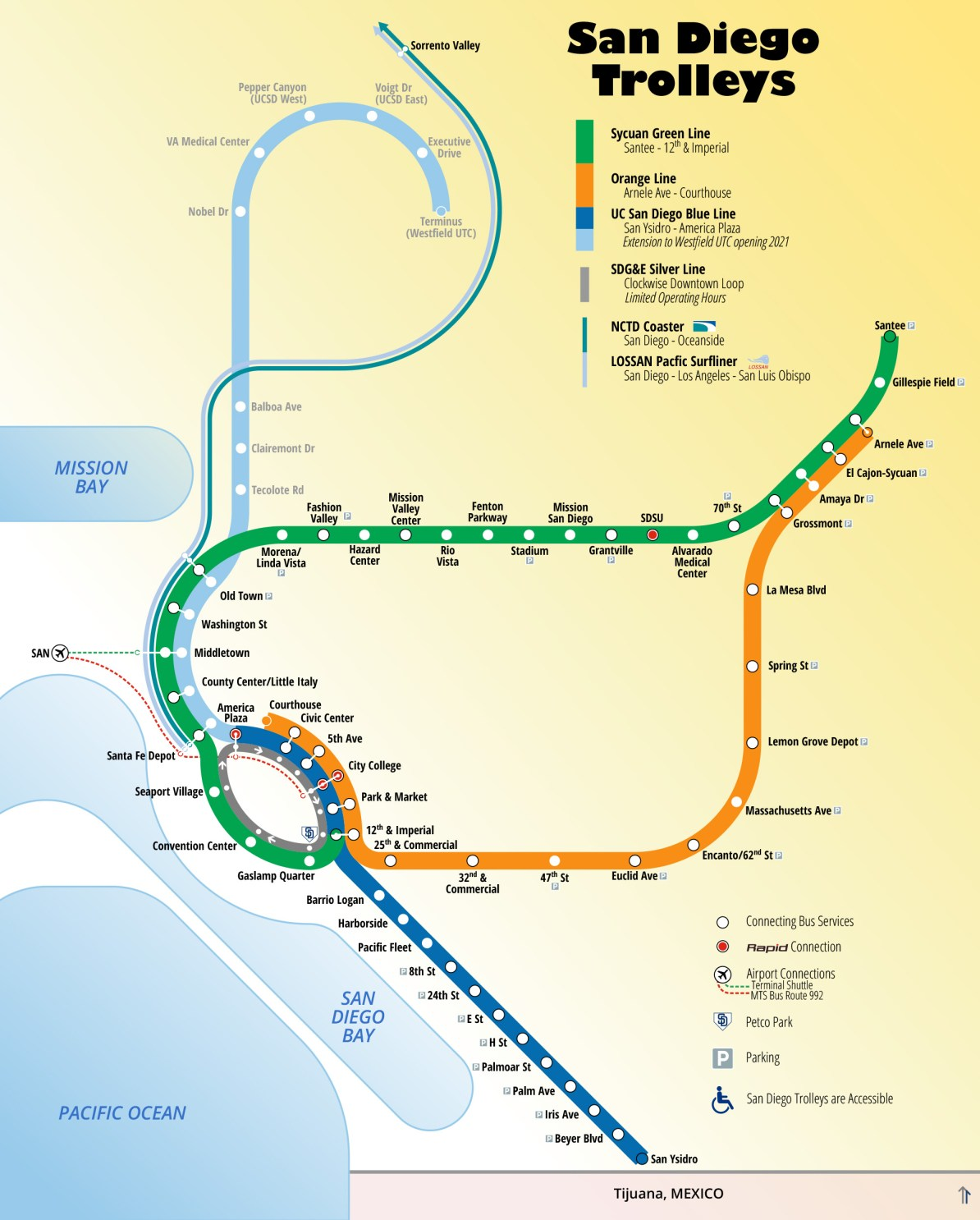 Transit Maps: Submission – Unofficial Future Map: San go ... on sd coaster map, sd trolley orange line, sd trolley stops near airport, san juan bus route map,