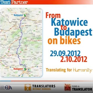 How TextPartner Got On Their Bikes To Fund-a-Translator!