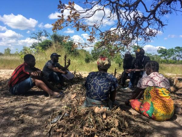 Community engagement Mozambique