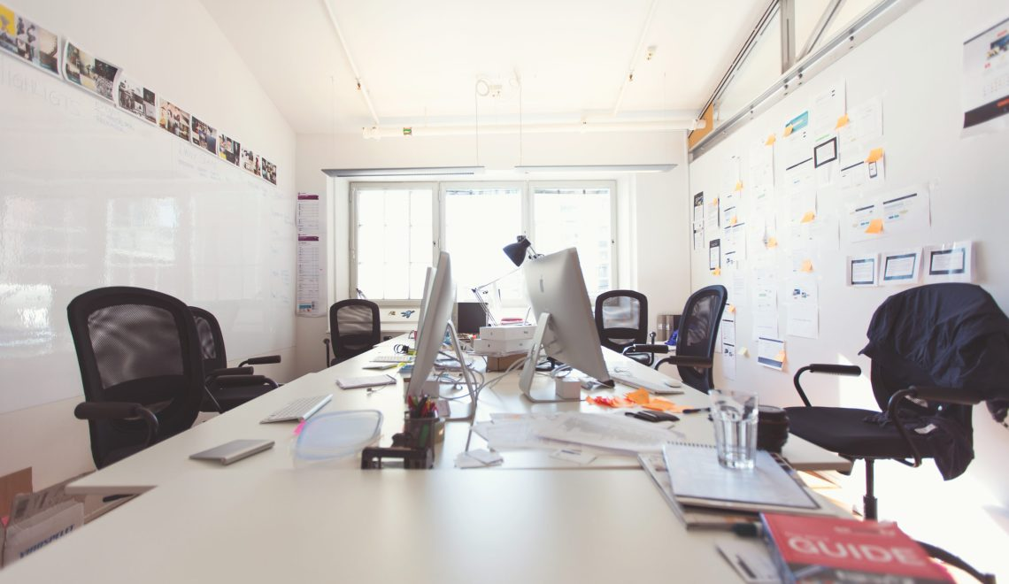 Generic empty office