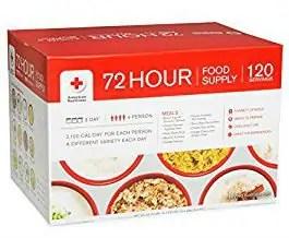 72 Hour Emergency Food