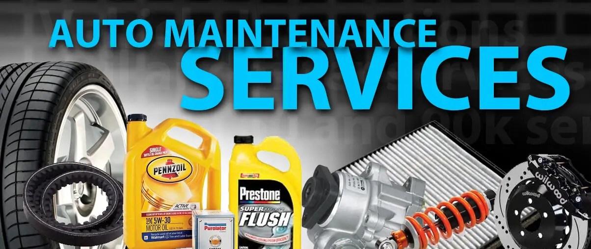 Auto Maintenance Services For Lacey Olympia Wa Washington