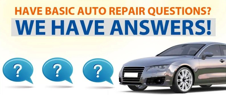 DIY Basic Auto Repair FAQ