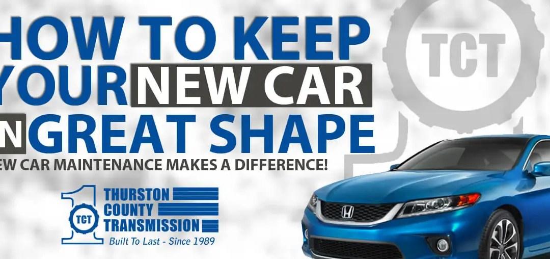 New Car Maintenance Means Big Savings!