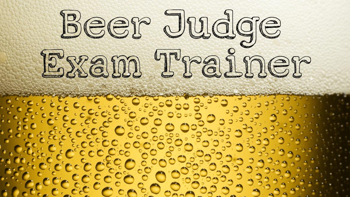 Hey Google, talk to the Beer Judge Exam Trainer!